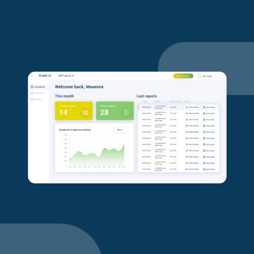 Trustoo's partners web app